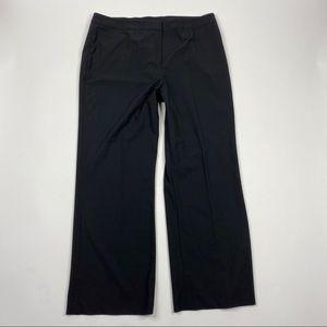Lafayette 148 Pants Wool Trouser Menswear Wide Leg